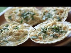 Coquilles St. Jacques (Baked Scallop Gratin)