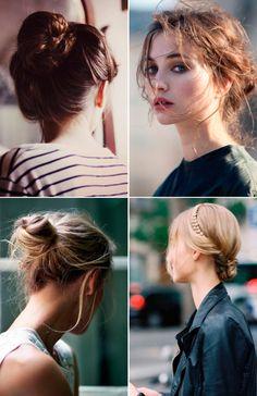 hair inspo: buns and braids