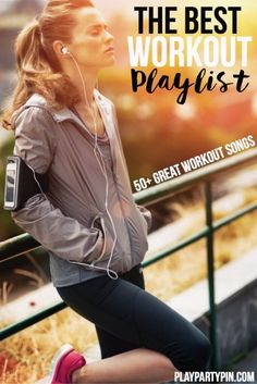 Great list of the best workout songs! And this site has a ton of other workout playlists and other workout ideas too!