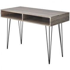 Writing Desk Bureau Computer Table Office Storage Workstation Indoors Furniture  #WritingDeskBureau #Contemporary