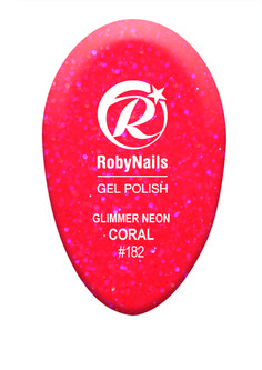 RobyNails Glimmer Neon Coral: cheerful and inviting, it enchant and seduce with elegance