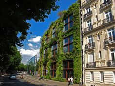 Museu Quay Branly Patrick Blanc fachada verde 01