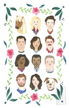 Parks and Rec by Rachel Silva