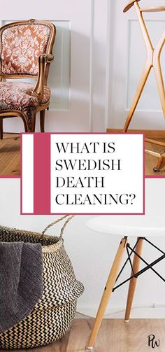 What is Swedish death cleaning? Find out here. #swedishdeathcleaning #cleaning #organization