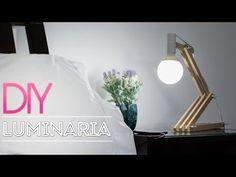 DIY :: Luminária de madeira | Aprenda a fazer - YouTube