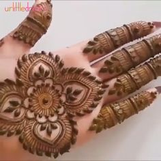 Whether you're looking to enhance your artistic skills or decorate yourself for personal or professional use, Indian Mehndi Henna Tattoo Paste Cone is just wha Henna Tattoo Designs, Mehndi Designs Book, Indian Mehndi Designs, Mehndi Designs 2018, Modern Mehndi Designs, Mehndi Designs For Girls, Mehndi Design Photos, Mehndi Designs For Fingers, Beautiful Henna Designs