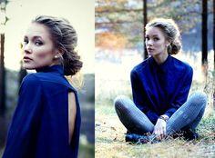 love her look!!      Open back (by Petra Karlsson) http://lookbook.nu/look/4193187-open-back