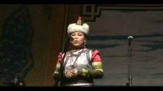 Female Mongolian Throat Singer