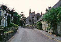 The village of Evershot in Dorset England.  We sat on the steps of the church and listened to the bell ringer practice.