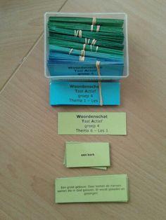 Woordenschat memory groep 4 en groep 5. Te downloaden van digischool.