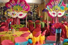 Imagen relacionada Dance Themes, Masquerade Theme, Rio Carnival, Mardi Gras Party, Ideas Para Fiestas, Grad Parties, 2nd Birthday, Decoration, Burlesque
