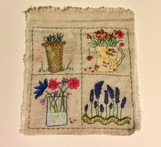 Applique Ideas, Nice Things, Cross Stitch Embroidery, Coasters, Quilting, March, Craft Ideas, Illustrations, Traditional
