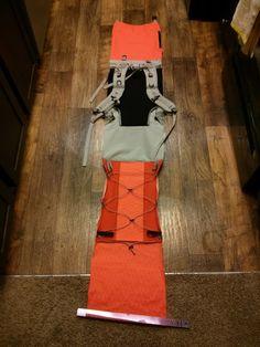Making of a pack - aluminium U stays