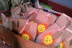 Adorable favors at a Lion King party!   See more party ideas at CatchMyParty.com!  #partyideas #jungle