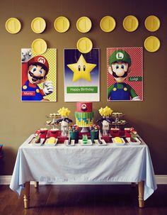 Mario Bros. Party | Cake Paper Party