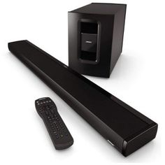 Bose CineMate Soundbar - expensive but really nice. #Soundbars