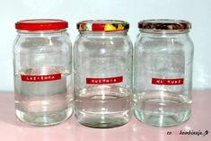 DIY: Ekologiczne środki czystości - Coonakombinuje Detox, Mason Jars, Diy, Garden, Craft, Garten, Bricolage, Lawn And Garden, Mason Jar