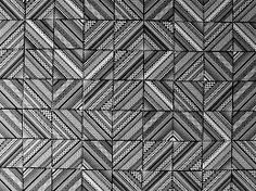Ceramic tiles pattern surprising geometric patterns displayed by core deco tile collection [video] Geometric Patterns, Tile Patterns, Textures Patterns, Geometric Tiles, Deco Design, Art Design, Tile Design, Floor Design, Pattern Design