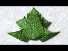 Origami Frog (Beth Johnson) - YouTube