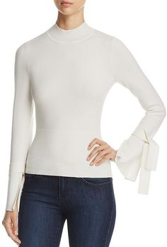 Karen Millen Fluted Cuff Sweater - 100% Exclusive