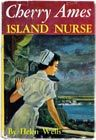 Cherry Ames. This 27 book series about a nurse who solves mysteries on the side began in 1943 and the initial novels had patriotic themes related to World War Two. The series ran until 1968.  I think I read most of these.  I read these when other girls were reading Nancy Drew.