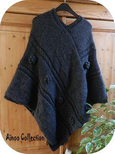 tricoter un poncho …