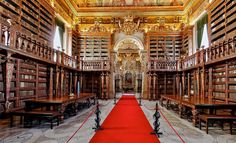 Old University Library, Coimbra, Portugal