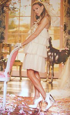Sarah Jessica Parker / SJP / Carrie Bradshaw ~ Sex and the city ~ movie ~ Vogue wedding photo shoot