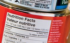 Secret Ingredients: How to Read Food Labels: Organic Gardening