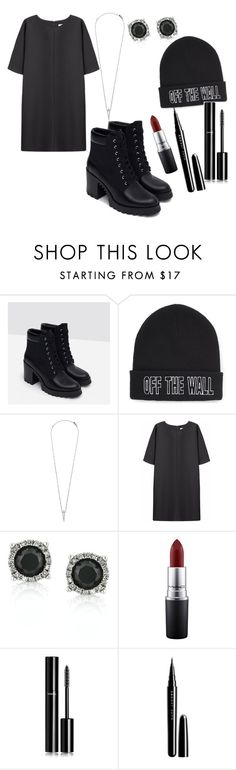 """""""Untitled #24"""" by patricia-rabelo ❤ liked on Polyvore featuring Zara, Vans, Eva Fehren, Non, Mark Broumand, MAC Cosmetics, Chanel, Marc Jacobs, women's clothing and women's fashion"""