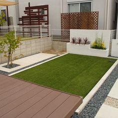 Sloped Garden, Terrace Garden, Back Gardens, Garden Planning, Sidewalk, Exterior, Landscape, Outdoor Decor, House Entrance