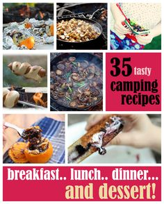 35 Camping Recipes: From Breakfast to Dessert