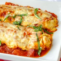 Margherita Chicken Cannelloni, your new favorite baked pasta dish! Bright tomato flavor & rich chicken ricotta filling meet plenty of melted cheesy goodness Margherita Recipe, Chicken Margherita, Pasta Recipes, Chicken Recipes, Cooking Recipes, Noodle Recipes, Kitchen Recipes, Turkey Recipes, Recipes