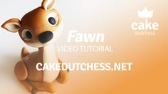 How to make a cute Fawn Cake Topper - Cake Decorating Tutorial Youtube Cake Decorating, Cake Decorating Techniques, Cake Decorating Tutorials, Decorating Ideas, Diy Cake Topper, Cake Topper Tutorial, Fondant Toppers, Cake Dutchess, Fondant Animals Tutorial