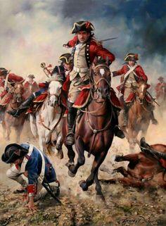 Regimiento España, 1793. Ferrer Dalmau.