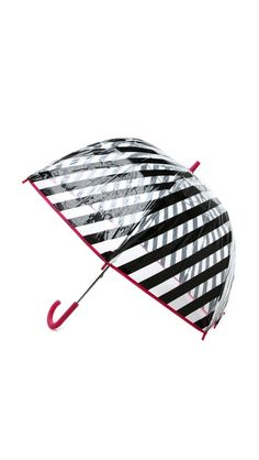 Darling striped kate spade umbrella - take 25% off with code:  FAMILY25 http://rstyle.me/n/e5ujdnyg6