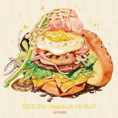 Hamburger ~ Grafolio