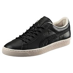 <p>Sleek and streamlined, the PUMA Basket originally hit the scene in the '60s as a basketball warm-up shoe, but it was quickly adopted by the hip hop crowd and transformed into a pop culture icon. Here, it joins the ranks of our Citi Series with a leather treatment for an urban, modern look.</p><p>Features</p><ul><li>Leather upper</li><li>Lace closure for a snug fit</li><li>Rubber outsole for grip</li><li>PUMA Formstrip at both sides</li><li>PUMA Logo label at tongue</li><li>PUMA…
