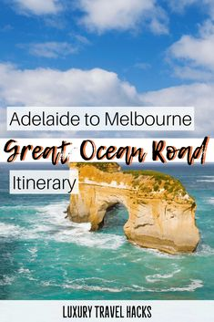 Adelaide to Melbourne Road Trip - Great Ocean Road Itinerary. This sounds like a fun Australian road trip. Travel Tips, Travel Destinations, Travel Hacks, Travel Articles, Travel Packing, Australia Destinations, Europe Packing, Traveling Europe, Backpacking Europe