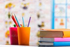 Realistic Graphic DOWNLOAD (.ai, .psd) :: http://jquery-css.de/pinterest-itmid-1007039693i.html ... Pencils and book ...  background, blank, book, color, colorful, creative, creyon, design, desk, drawing, education, layout, learning, note, notebook, office, paper, pen, pencil, pencils, school, table, tidy, white, wood, write  ... Realistic Photo Graphic Print Obejct Business Web Elements Illustration Design Templates ... DOWNLOAD :: http://jquery-css.de/pinterest-itmid-1007039693i.html