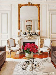 Cool Chic Style Fashion: Home of Fashion | Traditional Home. . . Parisien!