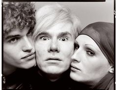 Richard Avedon, Jay Johnson, Andy Warhol and Candy Darling, 1969
