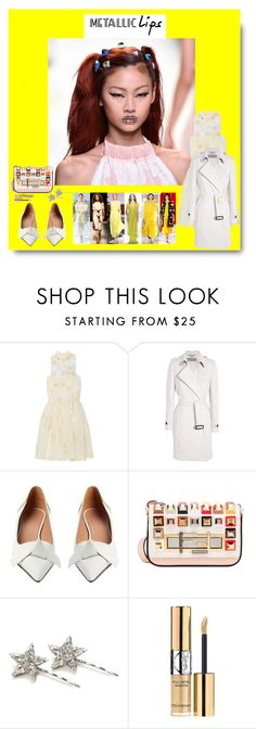 """""""Stand Out Beauty"""" by sue-mes ❤ liked on Polyvore featuring Fendi, Burberry, Marni, J.Crew and Yves Saint Laurent"""