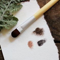 Eyeshadow Bamboo Makeup Brush #naturalskincare #greenbeauty #makeup