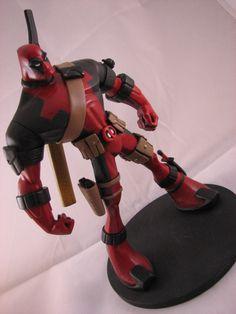 Neat-o animated Deadpool statue Character Concept, Character Art, Character Design, Disney Infinity Characters, Deadpool, Gi Joe, Marvel Comics, D Mark, Statues