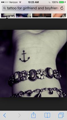 Here you will get 50 best small tattoo designs. Easy tattoo designs where you can find numerous styles and arts for neck, back, chest and hand tattoos. Anchor Tattoo Wrist, Small Anchor Tattoos, Anchor Tattoo Design, Cute Small Tattoos, Little Tattoos, Pretty Tattoos, Beautiful Tattoos, Amazing Tattoos, Meaning Of Anchor Tattoo