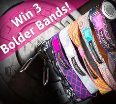 Win 3 Bolder Band Headbands! ($45 value) http://virl.io/CnZJqfSq
