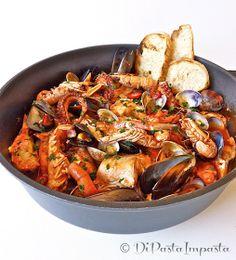 Caciucco di mare, seafood soup #seafood #soup #italianrecipes