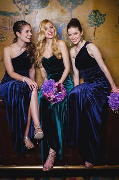 Bridesmaid dresses | Donna Morgan, Fall 2013