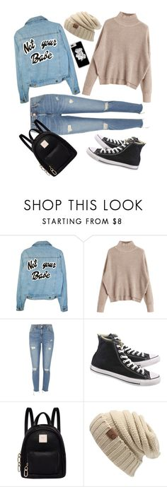 """77"" by andreea-narcisa-obreja on Polyvore featuring River Island, Converse and Fiorelli"